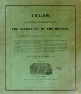 Title Page - Cover, Atlas Designed to Illustrate the Geography of the Heavens 1835